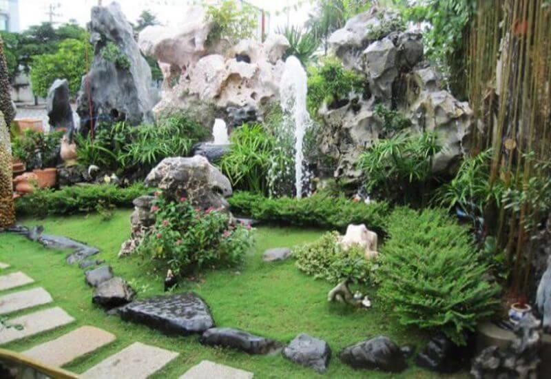 Những lợi ích tiểu cảnh sân vườn mini mang lại