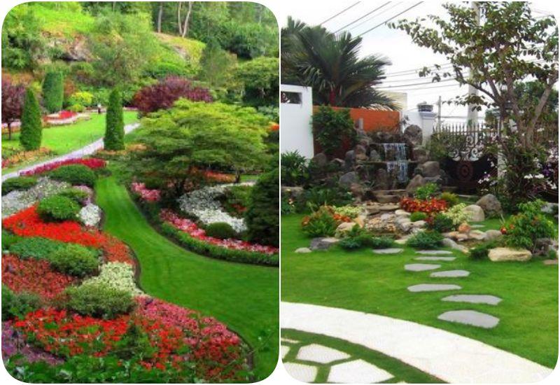 Mẫu cảnh quan sân vườn mini đẹp