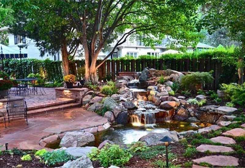 thiết kế cảnh quan sân vườn đẹp số 5