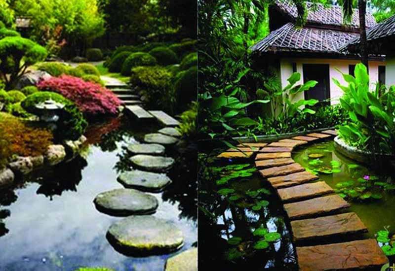 thiết kế cảnh quan sân vườn đẹp số 7